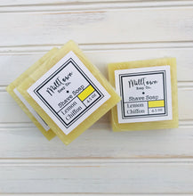 Load image into Gallery viewer, Lemon Chiffon Shave Soap