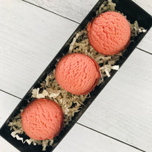 Load image into Gallery viewer, Orchard Solid Bubble Bath Truffle Trio
