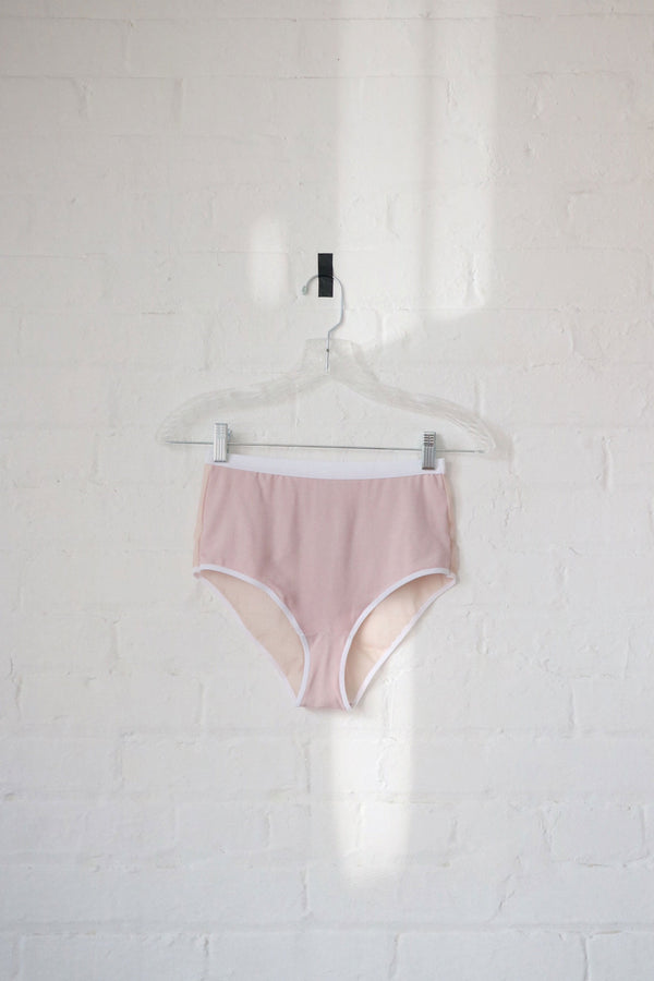 Lux High Waist Brief in Milkshake