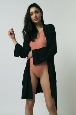 Oli Robe in Black