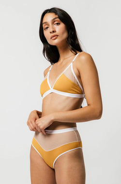 Logan Bra in Mustard