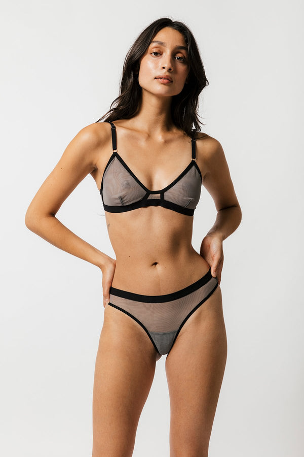 Emery Bra in Slate
