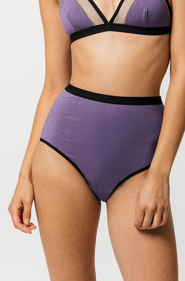 Lux High Waist Brief in Izmir
