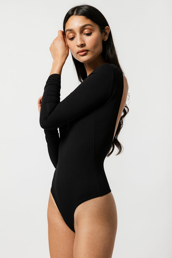 Teva Bodysuit in Black