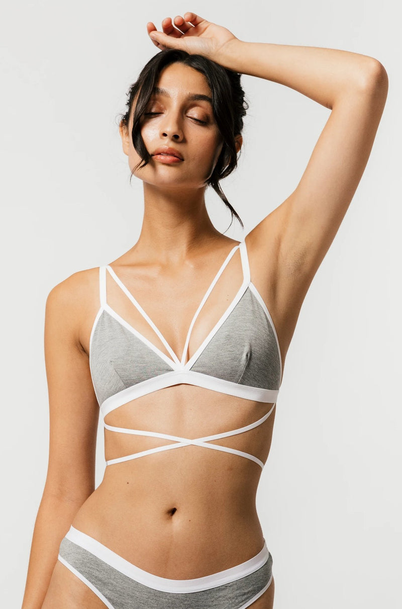 Parker Bra in Grey