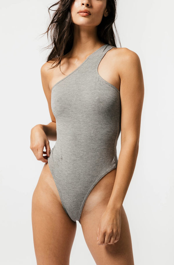 Del Bodysuit in Grey