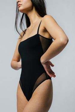Nalini Bodysuit in Black
