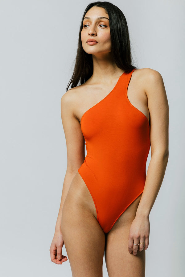 Del Bodysuit in Orange