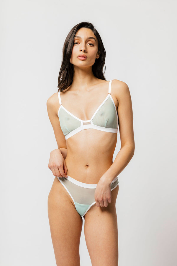 Emery Bra in Mint