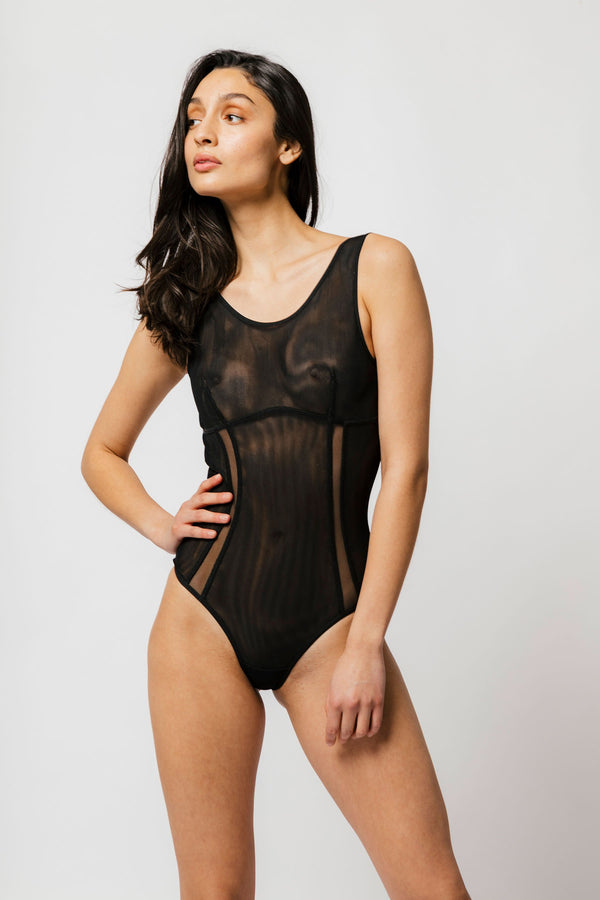 Rylee Bodysuit in Black