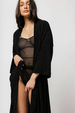 Nasha Robe in Black
