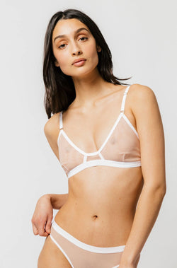 Emery Bra in Milkshake