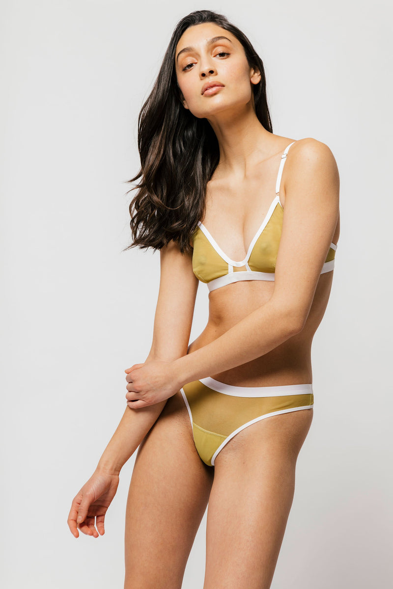 Emery Bra in Matcha