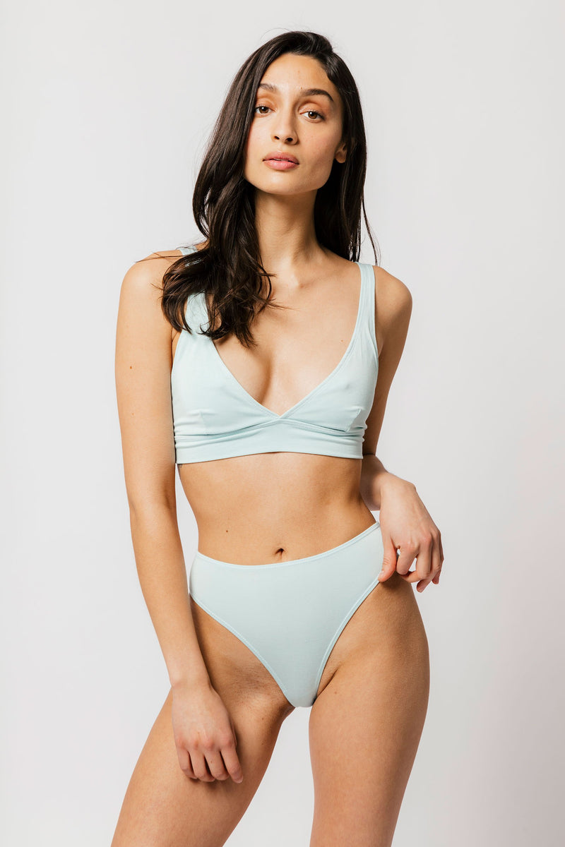 Kendi Brief in Solid Mint