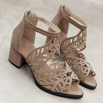 Silvia Hollow Sandals