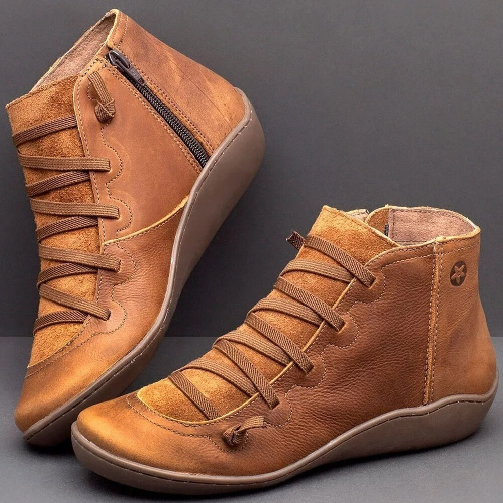 Frances Leather Boots