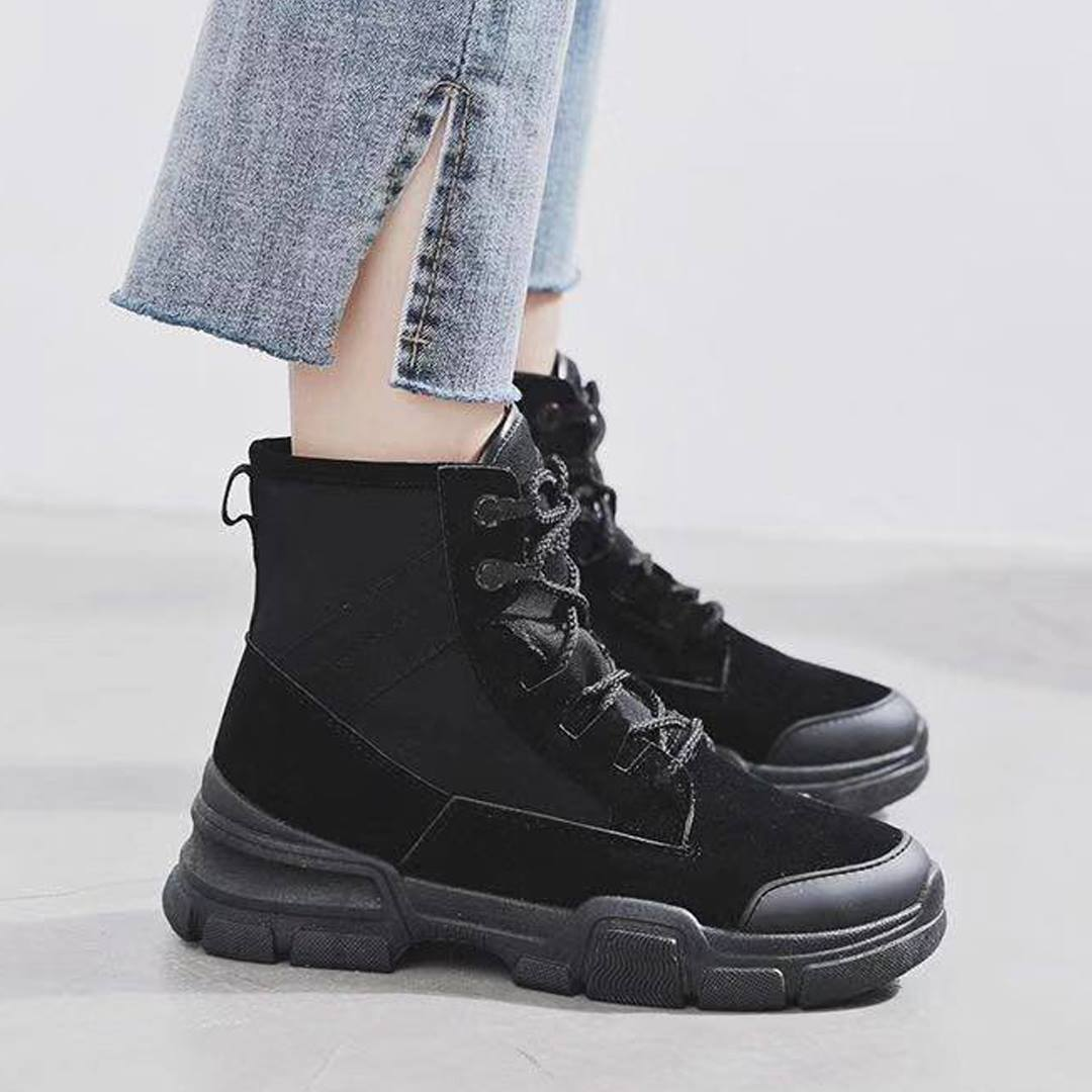 Sunny Combat Boots Style