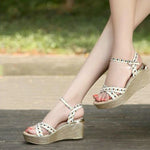 Chesca Wedge Sandals