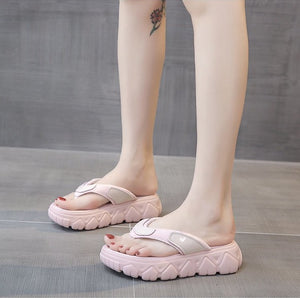 Mun-Hee Chunky Sole Slippers