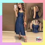Christine Denim Dress