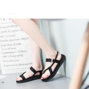 Ha-eun Summer Flat Sandals