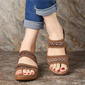 Ha-Yoon Mini Wedge Sandals
