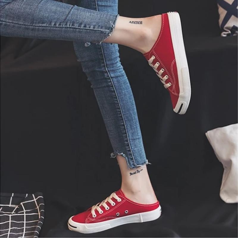 Hyo-Yeon Lazy Lace-up Shoes