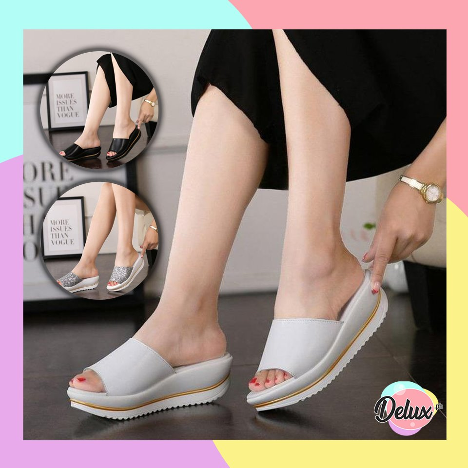 Nelly Faux Leather Sandals
