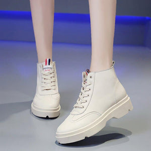 Ae-jung High Top Sneakers