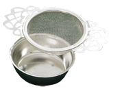 Filigree Tea Strainer