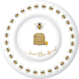 Save the Bees! Paper plate