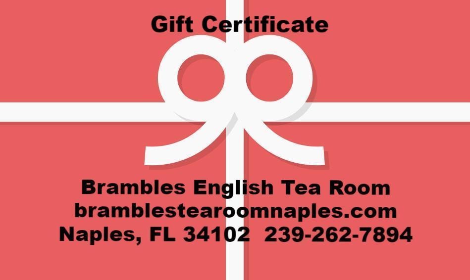 Gift Certificates - $25