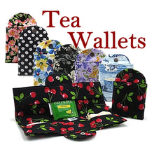 Load image into Gallery viewer, Tea Wallet Cherries