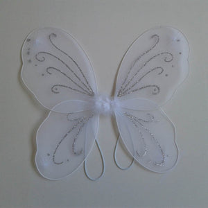 Child Kids Girl Angel Fairy Butterfly Wings Halloween Fancy Dress Party Costume