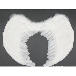 Angel Feather Wing Halloween Costume Cosplay Dress Up Apparel Adult Children