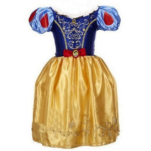 2-10 Years Princess Cinderella Girls Dress Snow White Dresses For Girls Rapunzel Aurora Children Cosplay Costume Kids Clothing