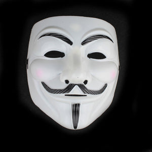 iMucci The V for Vendetta Party Cosplay Masque Mask Anonymous Guy Fawkes Fancy Dress Adult Costume Macka Mascaras Halloween