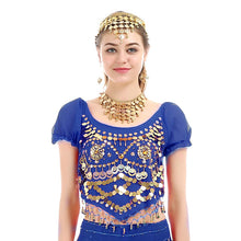 iMucci 6 Colors Two Flower Short Sleeve Women Belly Dance Top 120D High Density Chiffon Bellydance Costume Dancewear 101 Tops