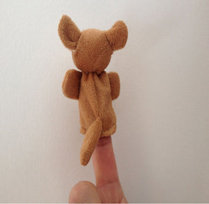 Hot New Animal Finger Puppets Plush Cloth Doll Baby Educational Hand Kids Toy Finger puppet toys for children finger toy