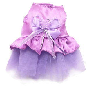 Rushed Sale New Dog Cat Bow Tutu Dress & Sweet Lace Skirt Pet Puppy Dog Clothes Costume 2016 dogs clothes Smile #03H