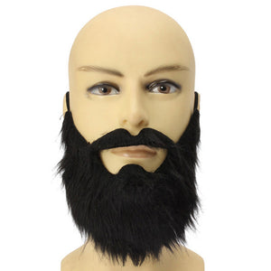 Fancy Dress Fake Beards Halloween Costume Party Moustache Black Halloween for Pirate Dwarf Elf James Harden Cosplay  S B
