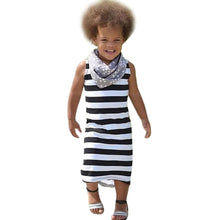 Baby Girls Dresses 2017 Summer Striped Dress Girl Clothes Robe Enfant Fashion Princess Dress Tunic Children Costumes Clothing