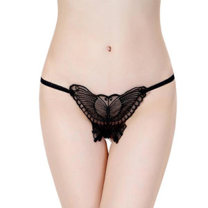 Women Sexy Underwear Lace Underwear T Transparent Gauze Pants