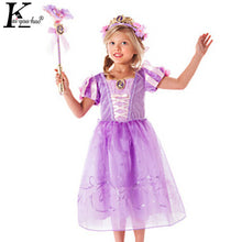 Cinderella Dress Children Clothes Christams Short Sleeve Snow White Princess Halloween Costume For Kids Elsa Dresses For Girls