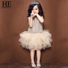 HE Hello Enjoy Kids Dresses for Girls children's party dress Girls Costumes princess dress Belle dresses Ball Gown 3-8T clothes