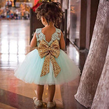 Sleeveless Christmas Dress Chiffon Tutu Baby Girls Dress Vestidos Bow Children Party Dresses For Girls Clothes Costume For Kids