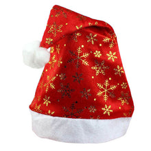 New Christmas Holiday Xmas Cap For Santa Claus Gifts Nonwoven