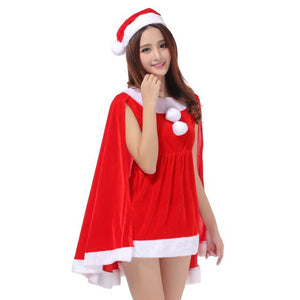 Christmas Party Dress Christmas hats Set Bunny Costumes Uniforms Temptation