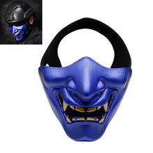 Halloween Horrible Scary Half Mask Lower Face Protective Cosplay Masks For Masquerade Costume Party Movie Props BM88