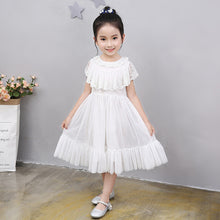 Hurave girls dress kids mesh clothes princess vestidos lace girl clothing Costumes for toddler performance